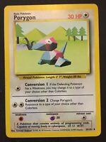 Porygon 39/102 Base Set Pokemon Card