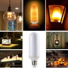 E27 4Models LED Flame Effect Simulated Nature Fire Light Bulbs Decoration Lamp