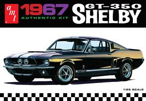 AMT 1967 Shelby GT350 - Black 1:25 Scale Model Kit