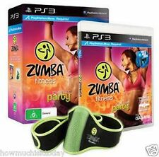 PS3 Zumba Fitness Bundle including Belt  - NEW (SEALED)