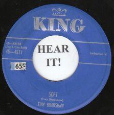 Tiny Bradshaw R&B INSTRO 45 (King 4577) Soft / Strange  VG+
