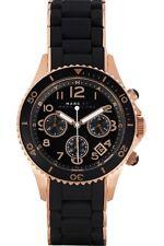 NUOVO Marc Jacobs MBM2553 Black Rock Orologio Cronografo - 2 anni di garanzia