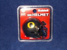 """Oregon Black NEW 2017 NCAA SPEED Football Riddell 2""""x2.5"""" Pocket Pro Helmet"""