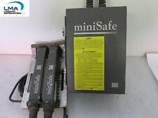 STI MS4308 MINISAFE CONTROLLER + 2X TRANSMITTER/RECEIVER 117VAC 50/60Hz *TESTED