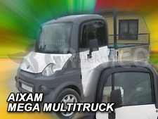 AIXAM MEGA MultiTruck Deflecteurs de vent HEKO Bulles