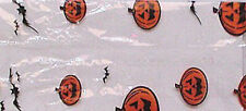 New 100 1/2# Halloween Pumpkin Gusseted Cello Poly Plastic Bags Candy Cookie