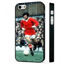 george best manchester united BLACK PHONE CASE COVER fits iPHONE