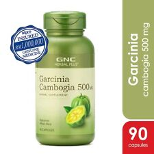 GNC Herbal Plus Garcinia Cambogia 500MG Natural Weight Loss FAT Burner Diet BIO