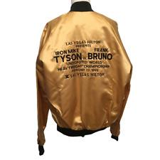 1989 Mike Tyson vs Frank Bruno Undisputed World Heavyweight Championship Jacket