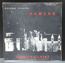 Rameau Kenneth Gilbert Pièces de clavecin Baroque records Canada LP NM, CV VG++