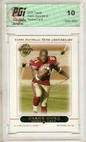 Frank Gore 2005 Topps #418 49ers Rookie Card PGI 10