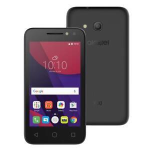"Alcatel Pixi 4 4"" LCD Quad Core Dual Camera Android Smartphone-Black"