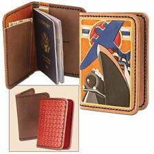 PASSPORT WALLET LEATHER KIT BY TANDY