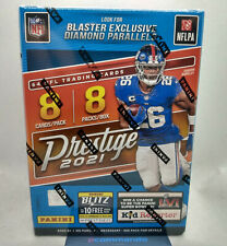 More details for 2021 panini prestige nfl american football cards sealed blaster box in uk!