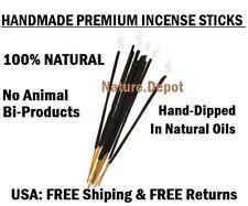 "PREMIUM QUALITY All Natural 100 PATCHOULI Incense Sticks Handmade 10.5 to 11"""