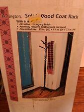 "Arrington Solid Wood Coat Rack 72"" x 19"""