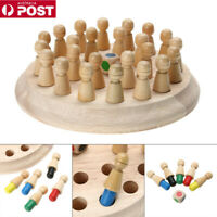Kid Educational Wooden Memory Match Stick Chess Game Baby Toy Learning Toy LG