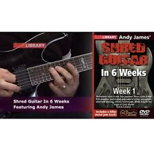 Lick Library Shred Guitar in 6 Weeks, Week 1 DVD RDR0334
