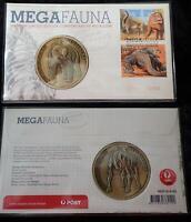 Ltd Ed. 2008 MEGA FAUNA PNC AMAZING LARGE DIPROTODON MEGAFAUNA MEDALLION - MINT