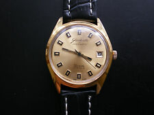 VERY Rare Glashütte Spezimatic Bison GERMAN Men's WATCH 80s PERFECT CONDITION