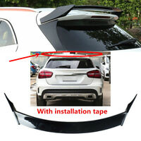Painted Black Fit For 15-20 Mercedes GLA200 GLA250 Rear Window Roof Wing Spoiler