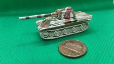 MILITARY MICRO MACHINE WW2 GERMAN PANTHER  BROWN GREEN TAN CAMO TANK