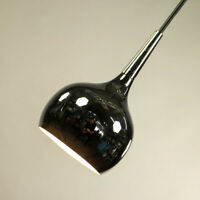 Chrom Kugel Pendel Leuchte Tulpen Hänge Lampen Chrome Tulip Pendant alt 60er70er