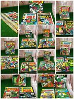 Incredible Hulk - Vintage UK Marvel Comics job lot x31 Issues (1974) bronze age