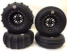 """DWT GMZ Beadlock Sand Stripper XL 30"""" Dune Paddle Tires Front Rear YXZ1000 YXZ"""