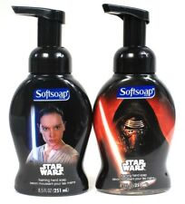 1 Set Softsoap 8.5 Oz Star Wars Rey & Kylo Ren Foaming Hand Soap Fun For All