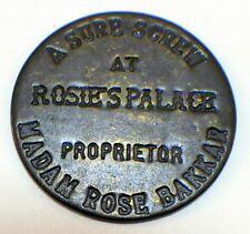 A Sure Screw At Rosie's Palace Madam Rose Brothel Token Good All Night