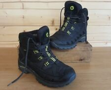 MERRELL 'FIREFLY'QUALITY BLACK LEATHER&TEXTILE HIKING/WALKING BOOTS,UK 11,SUPERB