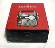 ETON Solarlink Radio FR-360 Black Multi-purpose Digital AM/FM Radio Self Powered