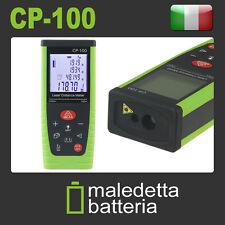 METRO LASER MISURATORE 100 METRI DIGITALE DISTANZIOMETRO CP-100 VERDE 100M (XB4)