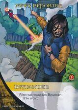 NEWS REPORTER 2014 Upper Deck Marvel Legendary CAPTAIN MARVEL HULK