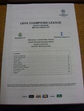 05/04/2011 Real Madrid v Tottenham Hotpsur [UEFA Champions League] - Printed Mat