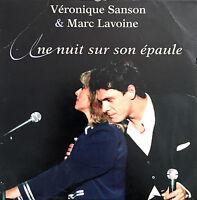Véronique Sanson & Marc Lavoine CD Single Une Nuit Sur Son Epaule - France