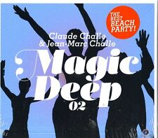CHALLE CLAUDE & JEAN MARC MAGIC DEEP VOL.2 DOPPIO CD NUOVO SIGILLATO !!