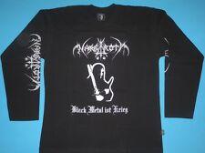 Nargaroth - Black Metal Ist Krieg T-shirt Long Sleeve NEW