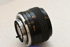 Minolta Rokkor PG MD 50mm F1.4 Prime Lens GOOD CONDITION