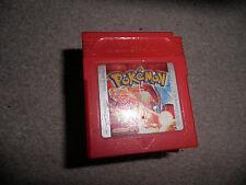 Nintendo Gameboy-POKEMON ROSSO-CART SOLO