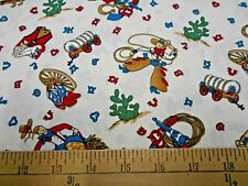 1 yard Fiesta Cowboys Fabric