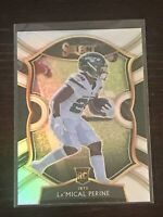 Panini Select La'Mical Perine Concourse Silver Prizm RC 2020 Jets Rookie RB