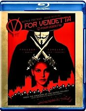 BRAND NEW BLU-RAY //  V For Vendetta // NATALIE PORTMAN , HUGO WEAVER, JOHN HURT