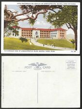 Old Panama Postcard - Picturesque View of Administration Building, Balboa