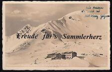 434 P AK Ansichtskarte Nebelhorn Nebelhornbahn Bergstation Nebelhorngipfel Bayer