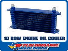 10 ROW BLUE ENGINE OIL COOLER