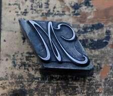 M  Initial Bleibuchstabe Stempel Siegel Buchstabenstempel Siegelbuchstabe Letter