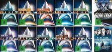 Complete Star Trek Raumschiff Enterprise Cinema Movies 1 - 12