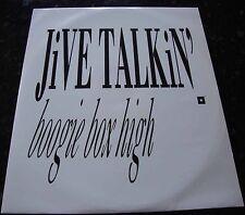 "Boogie Box High, Jive Talking, 12"" Vinyl Record"